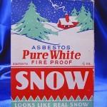 Asbestos Snow box