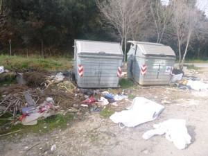 Recuperació espai amb diferents residus banals a Barberà del Vallès